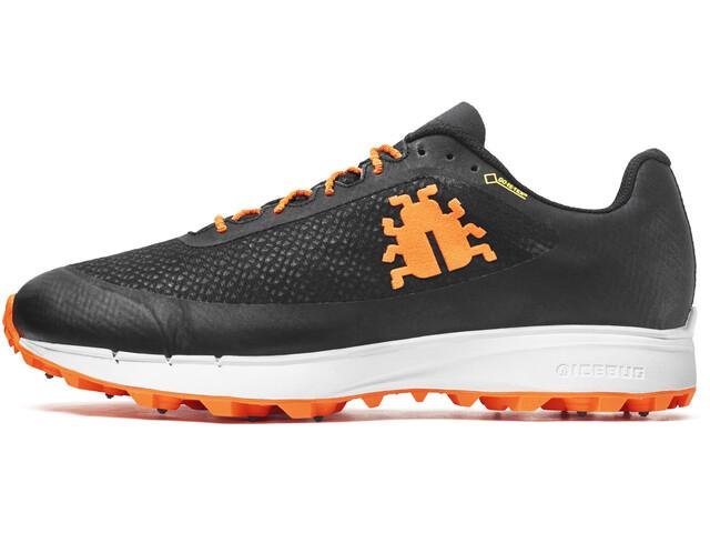 Icebug M's Oribi2 BUGrip GTX Shoes Black/DkOrange